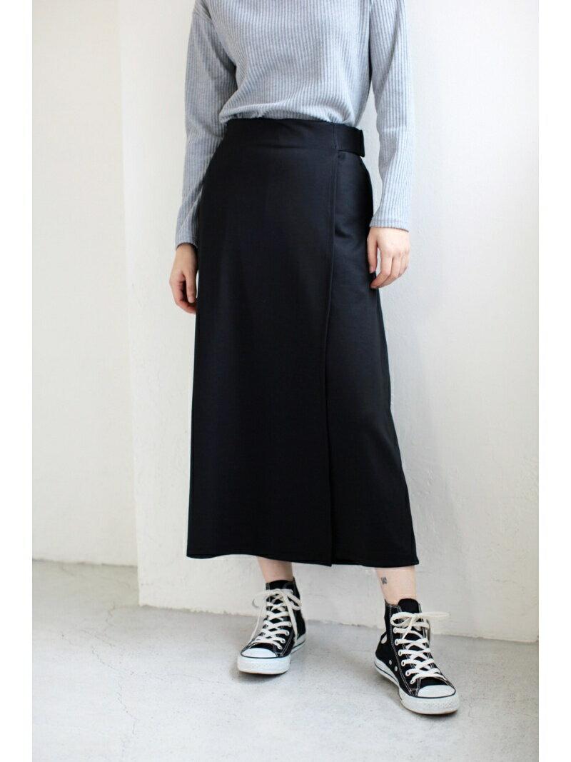 【SALE/50%OFF】AZUL by moussy ソフトポンチラップスカート付ワイドパンツ アズールバイマウジー パンツ/ジーンズ【RBA_S】【RBA_E】
