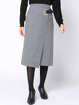 ストレッチハトメタイトスカート