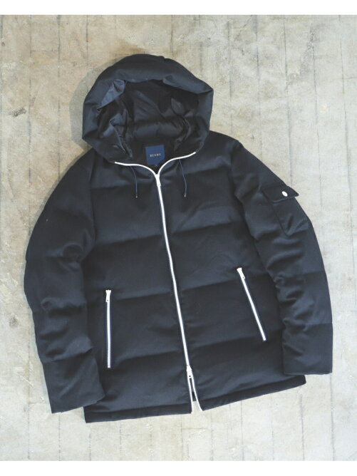 BEAMS / Wool Down Parka