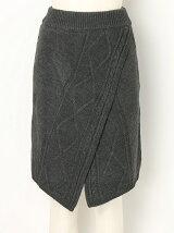 アランニット2wayスカート