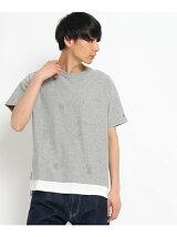 THE SHOP TK×CHAMPIONレイヤードBIGTシャツ