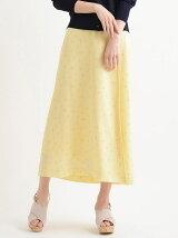 ♪花柄ウエストリボンスカート