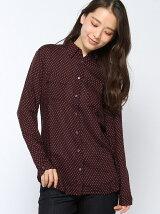 (W)総柄胸ポケットシャツ・ブラウスDUC1