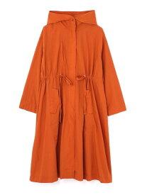 【SALE/50%OFF】ROSE BUD フード付きロングカラーコート ローズバッド コート/ジャケット コート/ジャケットその他 オレンジ パープル カーキ【送料無料】