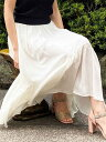 【SALE/50%OFF】31 Sons de mode イレヘム割繊スカート トランテアン ソン ドゥ モード スカート プリーツスカート/…
