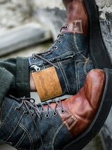 Walton bi-color boots