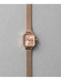ete ウォッチオクタゴンフェイスダイヤモンド エテ ファッショングッズ 腕時計 レッド【送料無料】