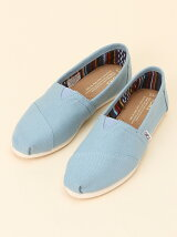 W CLSC TOMS Blue Canvas
