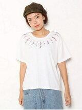 オルテガネック 刺繍 BIG Tシャツ