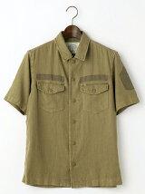 USMC バックプリント シャツ