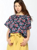 Techichi/水彩花柄ブラウス