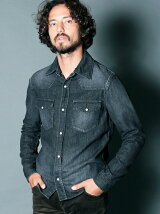 9oz SHAVING HIGH DENSITY DENIM SHIRTS