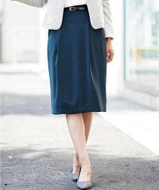 【SALE/41%OFF】a.v.v 【セットアップアイテム】Wクロスベルト付きタックタイトスカート[WEB限定サイズ] アー・ヴェ・ヴェ スカート スカートその他 グリーン ネイビー ブラック
