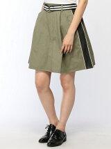 メッシュラインスカート