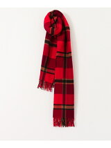 Royal Heather WOOL CHECK STOLES