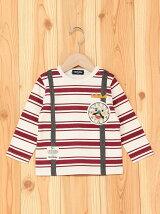cb時計の王様フェイス長袖Tシャツ