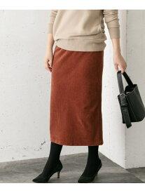 【SALE/30%OFF】ROSSO ニットコールスカート アーバンリサーチロッソ スカート スカートその他 ブラウン ベージュ【送料無料】