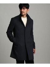 [TALL&LARGEサイズ]ウールカシミヤライトスタンドカラーコート