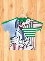 (K)バックスバニーボーダーTシャツ・カットソーUL