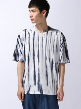 絞り染め半袖Tシャツ