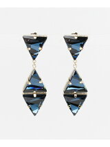 dix BIG TRIANGLE EARRING