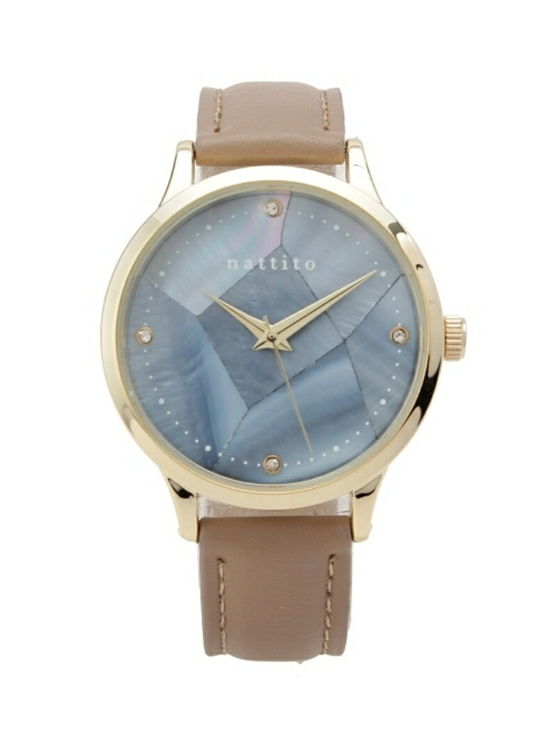 passage mignon クラックダイアル腕時計 パサージュ ミニョン / フラヌール ファッショングッズ