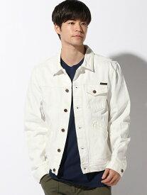 nudie jeans nudie jeans/(M)Tommy ヌーディージーンズ / フランクリンアンドマーシャル コート/ジャケット デニムジャケット ホワイト【送料無料】