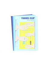 FISH TRAVEL CLIP-SILVER(5PCS SET)