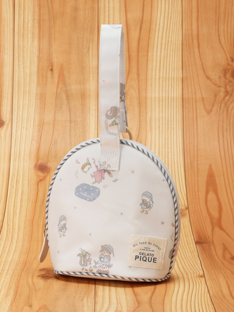 gelato pique パジャマパーティー柄ドリンクポーチ/ジェラートピケ ジェラートピケ マタニティー/ベビー