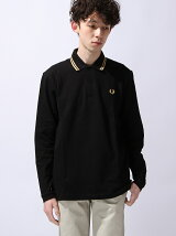 (M)L/S TWIN TIPPED FRED PERRY SHI