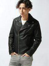 【WEGO】【BROWNY VIN】(M)ダブルライダースジャケット