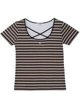 [sc]ストラップネックちびTシャツ