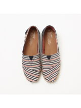 ★TOMS Navy red stripe