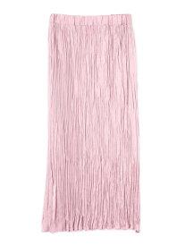 【SALE/50%OFF】ROSE BUD ワッシャーサテンスカート ローズバッド スカート スカートその他 ピンク ネイビー カーキ【送料無料】
