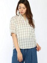 Lugnoncure/フロント釦スキッパーシャツ