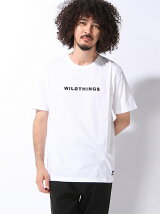 (M)【WILD THINGS】ロゴ刺繍T