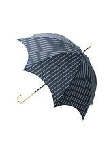 ダブルストライプ長傘(晴雨兼用)