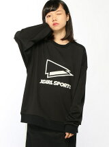 CREWNECK SWEAT FLAG PRINT