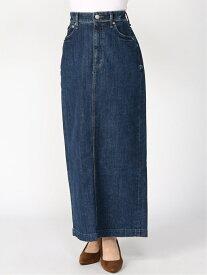 【SALE/50%OFF】YANUK YANUK Women's/(W)バックベンツ ロングスカート ディヴィニーク スカート ロングスカート ネイビー【送料無料】
