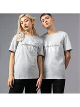 【CALVIN KLEIN JEANS】モノグラム CK ロゴ Tシャツ