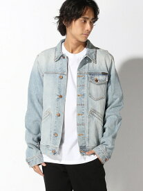 【SALE/50%OFF】nudie jeans nudie jeans/(M)Tommy ヌーディージーンズ / フランクリンアンドマーシャル コート/ジャケット デニムジャケット グリーン【送料無料】