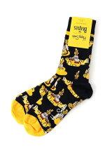 (W)【WEB店限定】Happy Socks×THE BEATLES