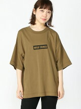 (W)【WEB店限定】【WILD THINGS】BOX LOGO T-SHIRT