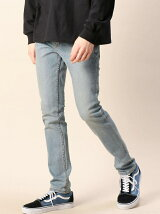 <CHEAP MONDAY(チープマンデー)> STONEWASH DENIM PANTS/デニムパンツ