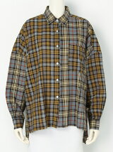 PATCHED BIG CHECK SHIRT