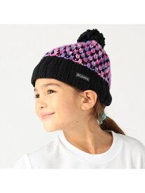 【SALE/31%OFF】Columbia 【KIDS】シベリアンスカイビーニーII コロンビア 帽子/ヘア小物 ニット帽/ビーニー ブラック ネイビー レッド