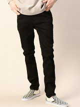 <CHEAP MONDAY(チープマンデー)> NEW BLACK DENIM PANTS/デニムパンツ