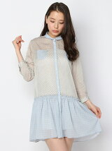 UNDERSIZE SHIRT ONE-PIECE【LADY'S】