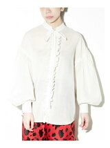 Back To Front Ruffle Blouse