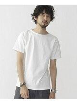 米綿ボートネックTシャツ